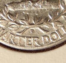 1942-D/D Washington 25c - RPM Var. - Sharp Looking Coin - FREE SHIPPING
