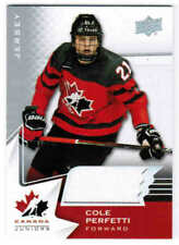 2020 UD TEAM CANADA HOCKEY JUNIORS/WOMEN BASE JERSEY CARDS 1-100 U-Pick Frm List