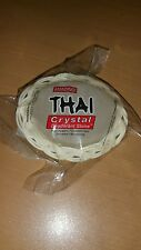 Thai Crystal Deodorant Stone Large Oval in Basket, 1 piece
