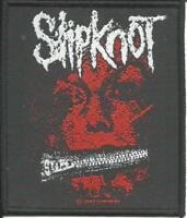SLIPKNOT zipper face 2007 - WOVEN SEW ON PATCH - official merch - no longer made