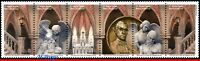 19-20 BRAZIL 2019 CRYPT OF SEE CATHEDRAL, ART, CHURCHES, SCULTURES, SET MNH