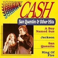 Johnny Cash San Quentin & other hits (16 tracks) [CD]
