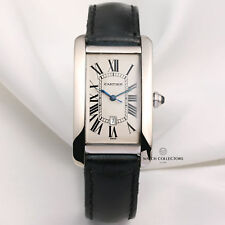 Cartier Tank Americaine 18K White Gold 1741