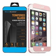 6x Premium Real Tempered Glass Film Screen Protector for Apple iPhone 7 Plus iPhone 6 Case