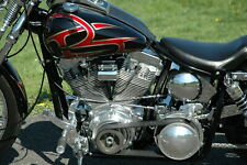 "BDL 2"" Shorty Open Belt Drive Primary Kit 1970-1978 Harley Shovelhead Big Twin"