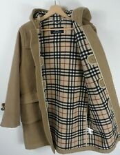 Boys Burberry Wool Nova Check Duffle Coat  Size 12 Years Original  : J893