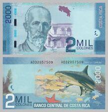 Costa Rica 2000 Colones 2009 p275a unz