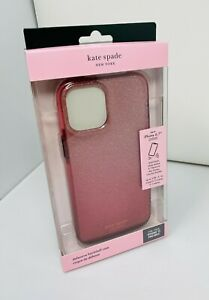 kate spade NY Hardshell Case for iPhone 12 Pro Max Glitter Ombre Magenta Pink