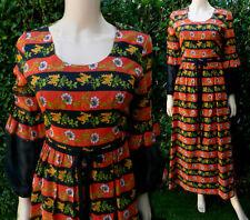 1970,s Vintage Dress Maxi Folk Regency Dress Kati By Laura Philips Historial  8