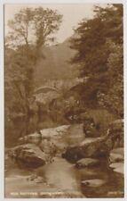 Wales postcard - At Pont y Pair, Bettws y Coed - RP