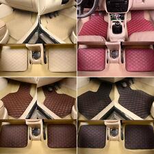 Heavy Duty Leather Floor Mat Front Rear Anti Slip For Car Suv Truck Easy Clean Fits 2003 Honda Pilot