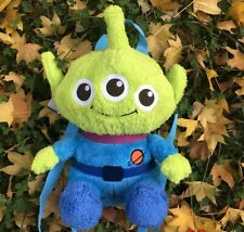 Disney Toy Story Alien Plush Doll Backpack Bag Plush toy 30CM