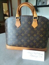 Louis Vuitton Alma PM Authentic Handbag Medium - Brown