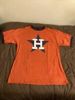 Houston Astros Ringer T-Shirt Size XL MLB Cooperstown Collection 2003