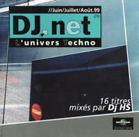 Compilation CD DJ.Net - L'Univers Techno - France (EX+/EX+)
