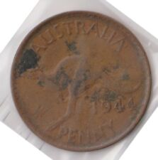 (H90-49) 1944 AU one penny coin (BT)
