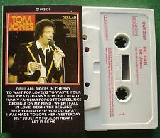 Tom Jones Delilah inc Riders in The Sky & Help Yourself + Cassette Tape - TESTED