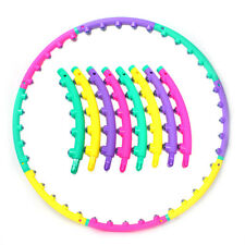 NEW Hula Hoop Slim Abdominal Exercise Gym Hula Hoop Magnetic Therapy Massage CA