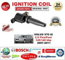FOR VOLVO V70 III 2.0 FlexiFuel 145/146 bhp 2007-2011 SINGLE IGNITION COIL 2-PIN