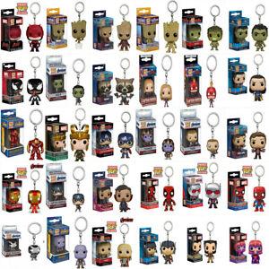 Funko POP! Geschenk Tasche Schlüsselanhänger Iron Man Deadpool Spider Man Thor1