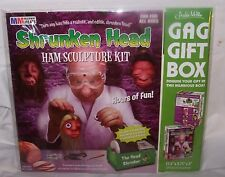 Archie McPhee Gag Gift Box Shrunken Head Ham Sculpture Kit New In Package