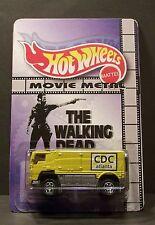 "Custom HotWheels ZOMBIE TRUCK and package from  ""Movie Metal""  The Walking Dead"