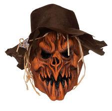 Máscara Y Sombrero De Cráneo Calabaza Zombie Para hombre mal Miedo Halloween Disfraz Terror nuevo