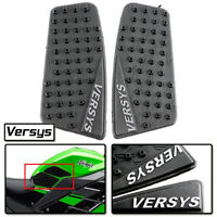 Gas Tank Side Pad Fuel Grip Decal Sticker Protector fi Kawasaki VERSYS 650 15-17