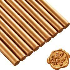 10~20PCS Glue Gun Sealing Wax Sticks for Wax Seal Stamp Letters Gold & Silver