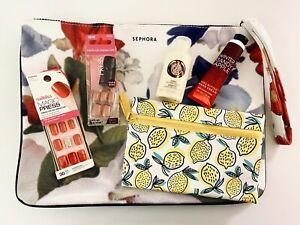 Sephora Ipsy Mixed Beauty Gift Set LOT OF 6 Bags Nails Lotion NEW