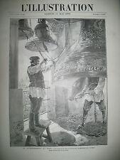 RUSSIE TSAR NICOLAS II MOSCOU PLACE ROUGE KREMLIN CLOCHES LE CINEMATOGRAPHE 1896