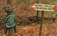 Postcard Sign Forest Alabama