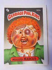VINTAGE! 1986 Topps Garbage Pail Kids Trading Card #102a-Mugged Marcus