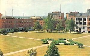 Terre Haute IN   INDIANA STATE COLLEGE Campus Quadrangle  1973 Vintage Postcard