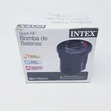 INTEX Quick Fill Battery Pump for Outdoor & Indoor Use