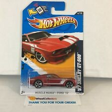 '67 Shelby GT-500 #114 * RED * 2012 Hot Wheels * C9