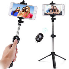 Bluetooth Selfie Stick Tripod Monopod Remote Control 270° Clamp for iOS Android