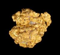 Genuine Calif. Alaska Natural Sponge Gold Nugget 1.89gr 10.17mm x 8.74mm Size