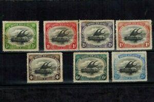 Papua New Guinea 1901-1905 1/2d - 1s SG 1-7 MOG