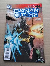 Batman And The Outsiders 13 . Batman R.I.P -  DC 2009 - VF -  minus