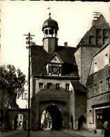 Bad Schmiedeberg Dübener Heide DDR s/w AK 1967 Straßenpartie am Au Tor Durchgang