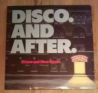 Various ‎– Disco And After 2× Vinyl LP Comp Gate 1979 33rpm CBS - LSP 14228