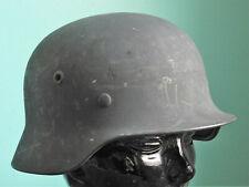 WW II GERMAN Helmet LUFTWAFFE M40 With LINER Q64 FIELD GRAY Rough Texture Finish