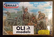 1/72 German WWI Artillery with 96 n/A 76 mm guns - EMHAR 7204