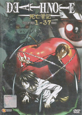 ANIME DVD Death Note Vol.1-37 End Region All ENGLISH DUBBED +FREE ANIME