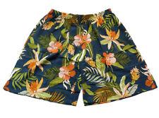 """Men's Silk Shorts Casual Beach Shorts Hawaiian Size XL 36""""-40"""""""
