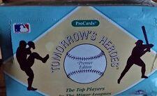 1991 ProCards Tomorrow's Heroes Minor League Baseball Wax Case (16) C Jones