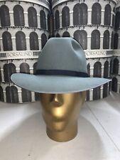 Borsalino Guido Men's Fedora Hat Made In Italy Size 60 7 1/2