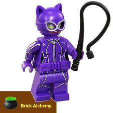 Genuine LEGO Cat Woman Minifgure - With Whip - from RETIRED set 70902