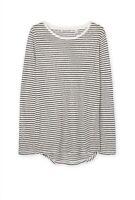 BNWOT Country Road women ladies long sleeve 100% linen TEE T-SHIRT top Blouse